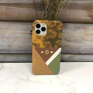 "Limited Edition Multicolor ""6"" Croco &  Lizard iPhone 11 Pro Case"