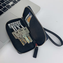 Load image into Gallery viewer, Ostrich Premium Skin Key Chain Bag