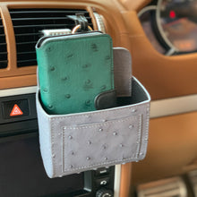 Load image into Gallery viewer, Ostrich Premium Leather Multifunctional Car Stick Bag