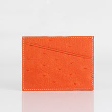 Load image into Gallery viewer, Ostrich Premium Skin Credit card case