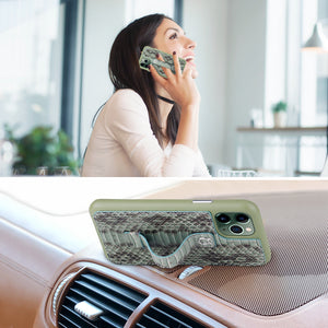 "Multicolor ""2"" Snake embossed leather iPhone 11 Pro Case - Green"