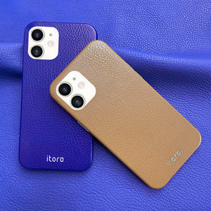iPhone 12 Mini Leather Case_ITALY Leather