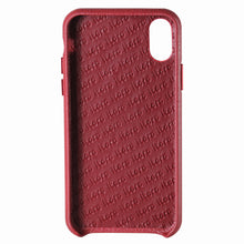 Load image into Gallery viewer, Cover n Go_iPhone X Italian Leather Case - Burgundy Red