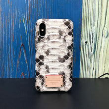 Load image into Gallery viewer, iPhone XS Limited Python Skin Phone Case