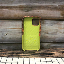 Load image into Gallery viewer, Lizard embossed Adventure Series Leather Case iPhone 11