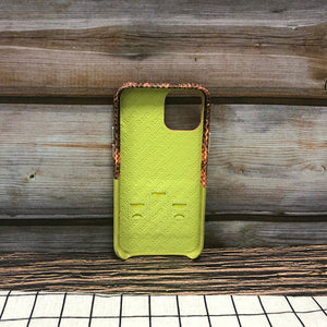 Lizard embossed Adventure Series Leather Case iPhone 11