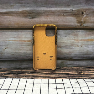 Lizard embossed Travel Series Leather Case iPhone 11 Pro Max