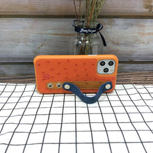 Load image into Gallery viewer, Ostrich detachable Kickstand Leather Case iPhone 11