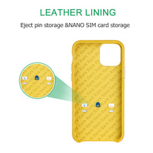 Load image into Gallery viewer, Ostrich Leather Phone Case with stand function_ iPhone 11 Pro Max