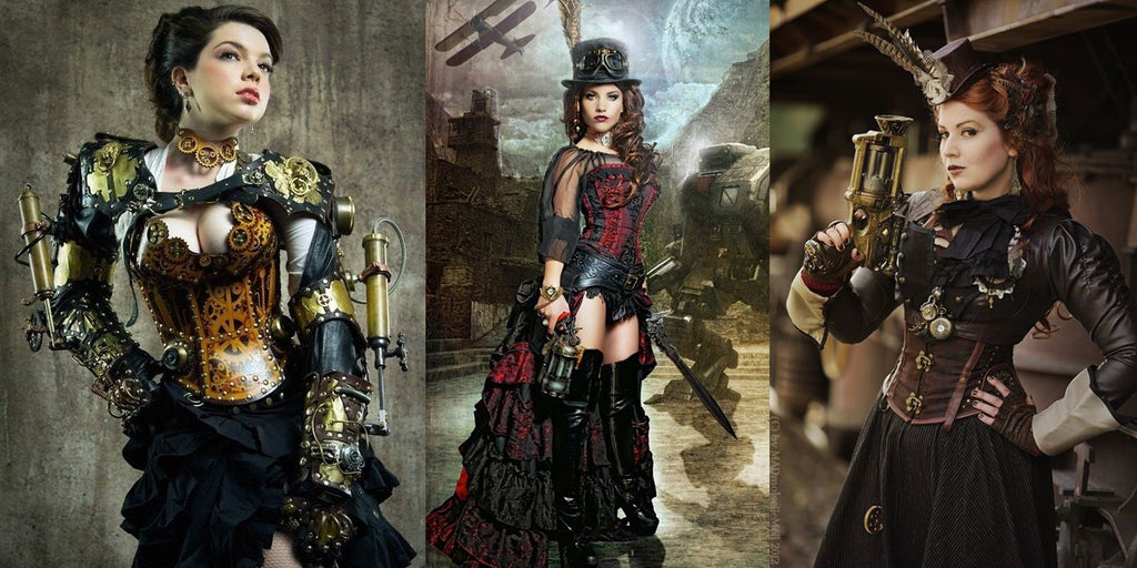 Steampunk accessories for women