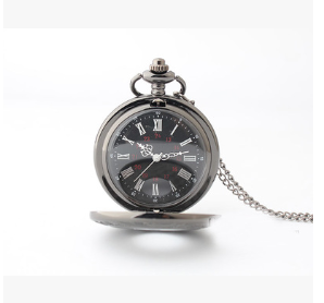 Vintage Roman double pocket watch