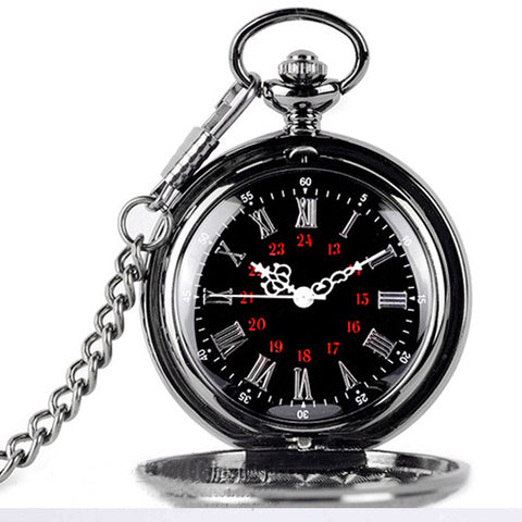 Image of Vintage Roman double pocket watch