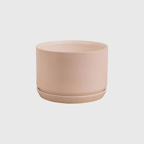 Wide Oslo Planter: Peach