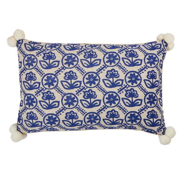 Primula Yves Klein Cushion