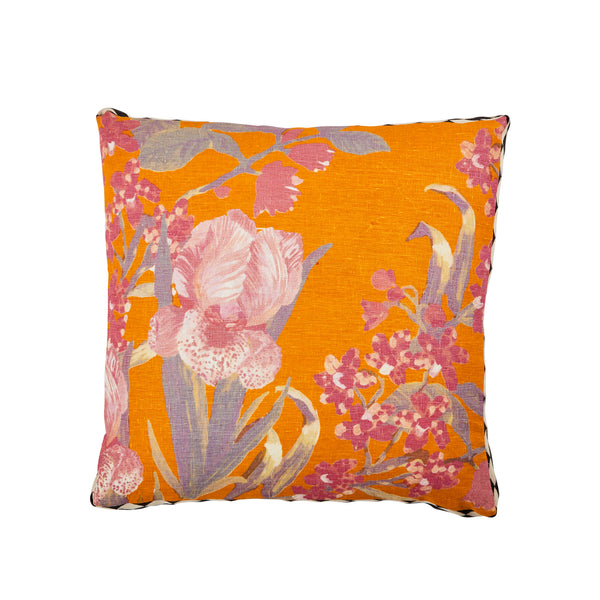 Iris Saffron Cushion