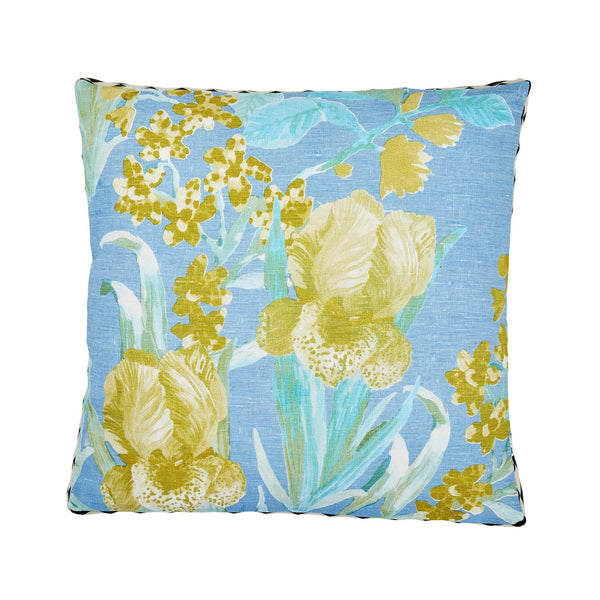 Iris Pale Blue Cushion *preorder*