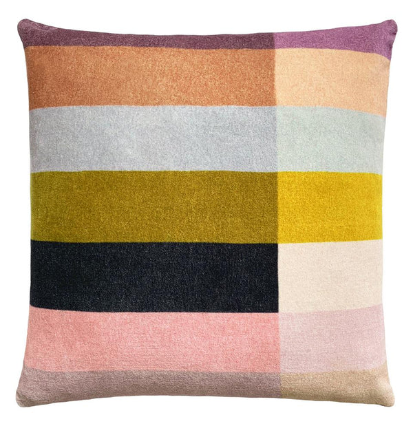 Colour Block Velvet Cushion *preorder*