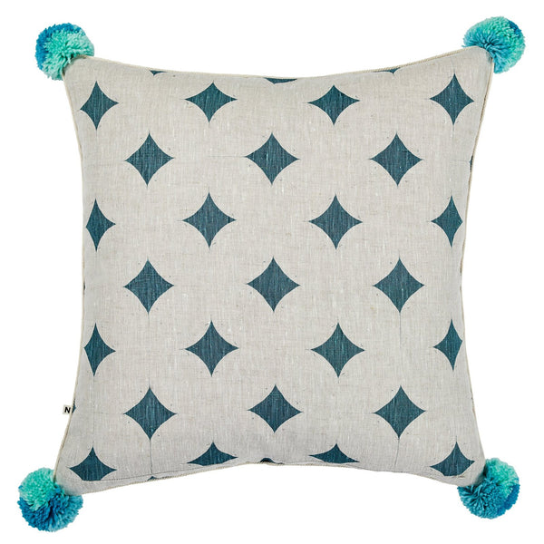 Cinnamon Pale Blue Cushion *preorder*