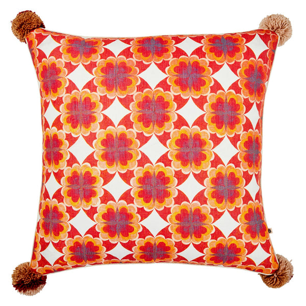 Cinnamon Red Cushion *preorder*