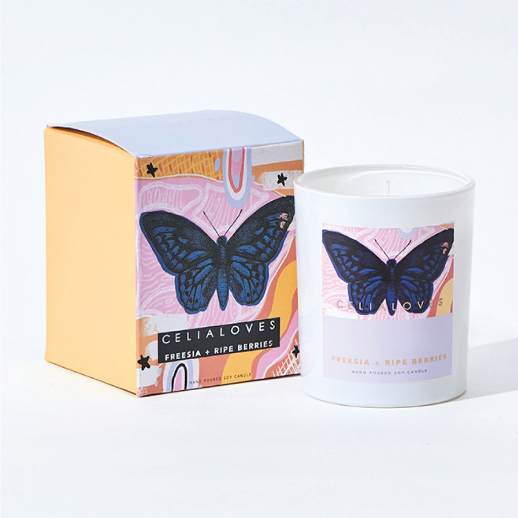 Freesia + Ripe Berries Candle: Large