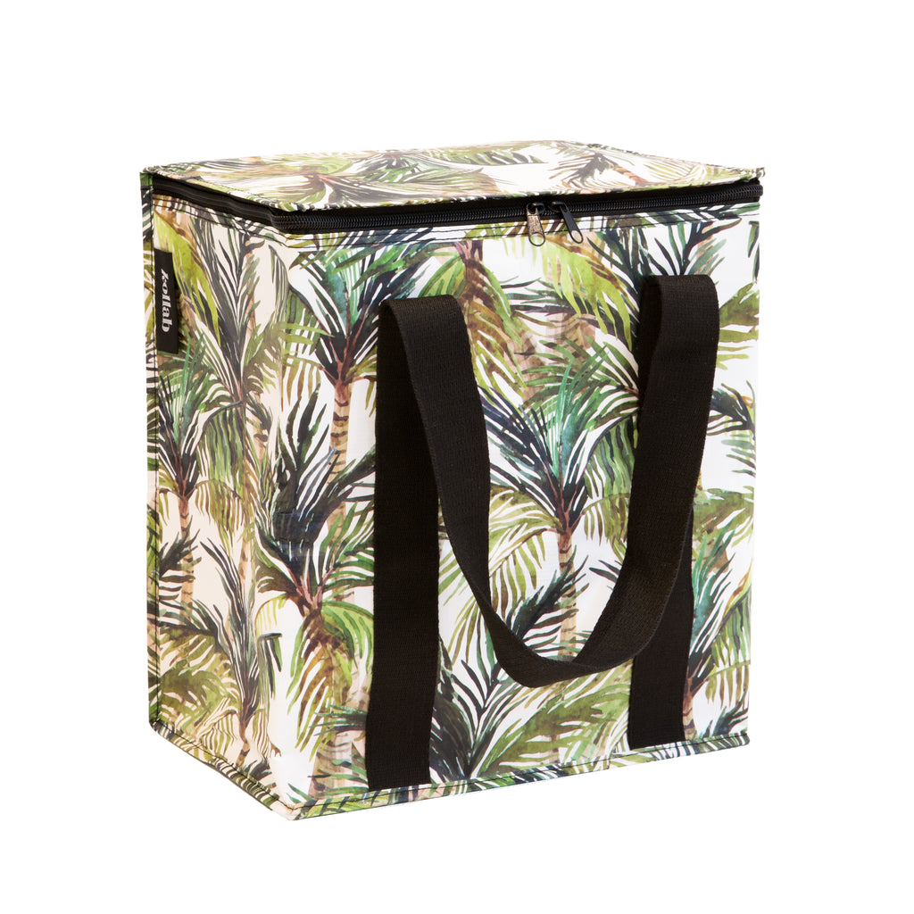 Cooler Bag: Green Palm