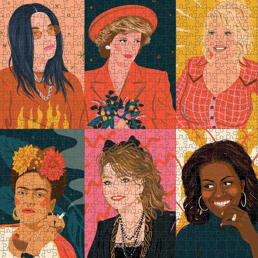 1000 Piece Puzzle: Hey Lady!