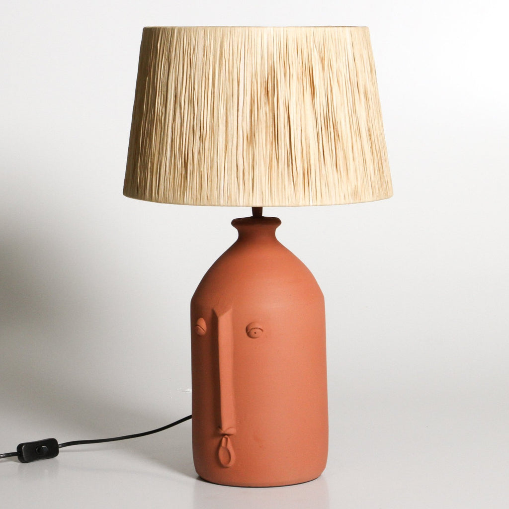 Salvador Table Lamp: Terracotta