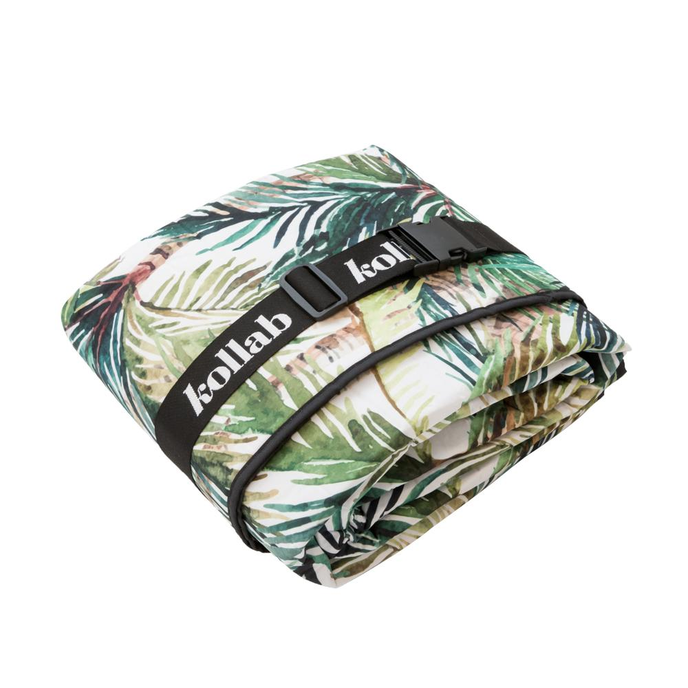Picnic Mat: Green Palm