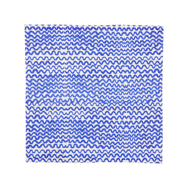 Tiny Waves Yves Klein Blue Napkins (set of 6)