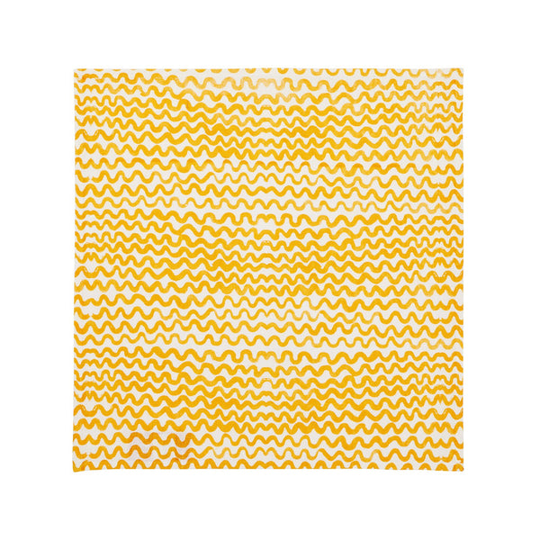 Tiny Waves Golden Napkins (set of 6)
