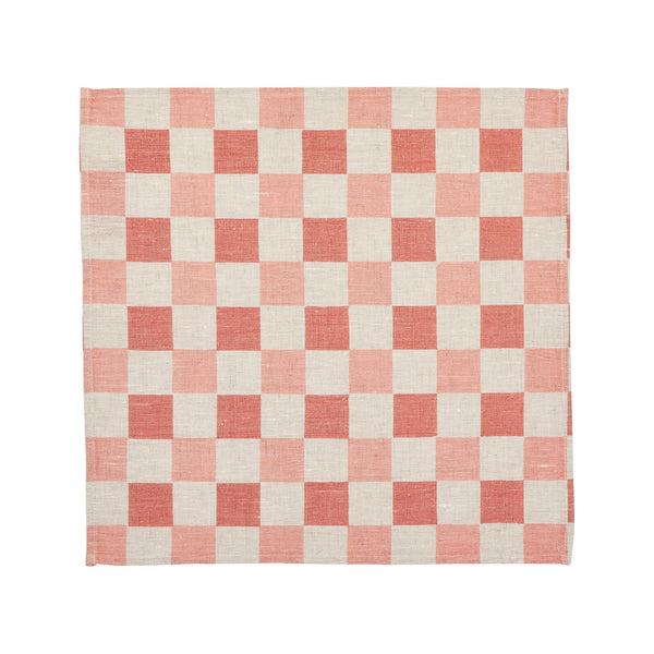 Checkers Blossom Napkins (set of 6)