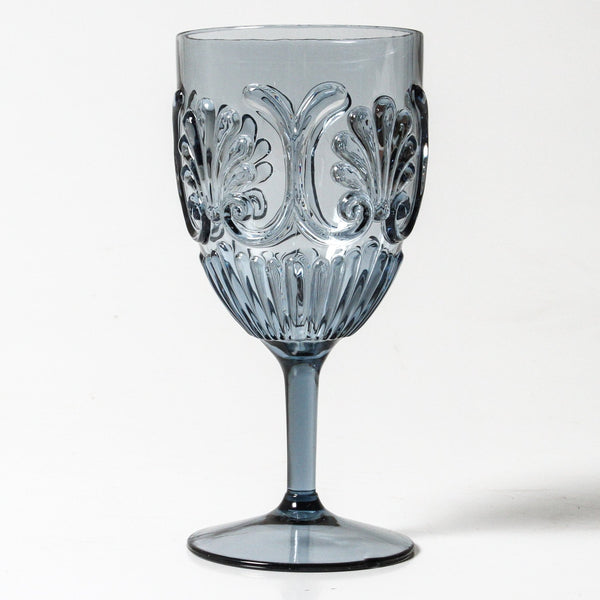 Flemington Acrylic Wine Glass - Blue