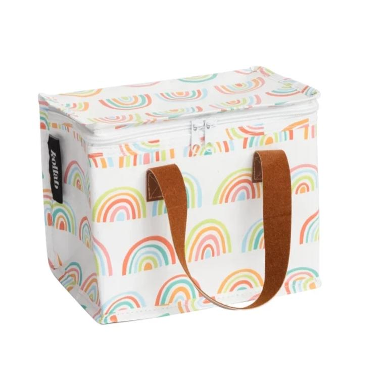 Lunch Bag: Retro Rainbows