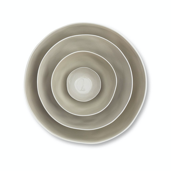 Cloud Bowl - Dove Grey L