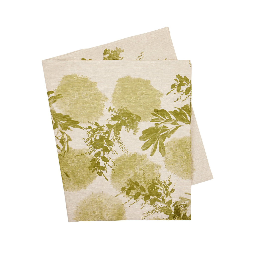 Flowering Gum Khaki Tablecloth