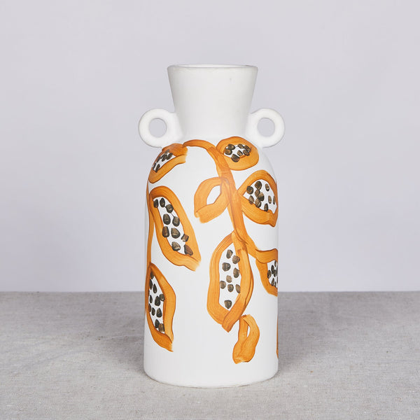 Spotted Begonia Vase - Mustard Tall *prerder*