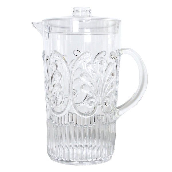 Flemington Acrylic Jug: Clear