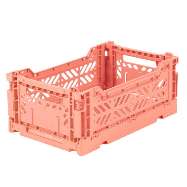 Aykasa Folding Storage Crate Mini - Salmon