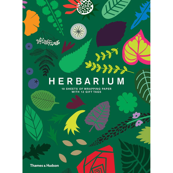 Herbarium Wrapping Paper Book