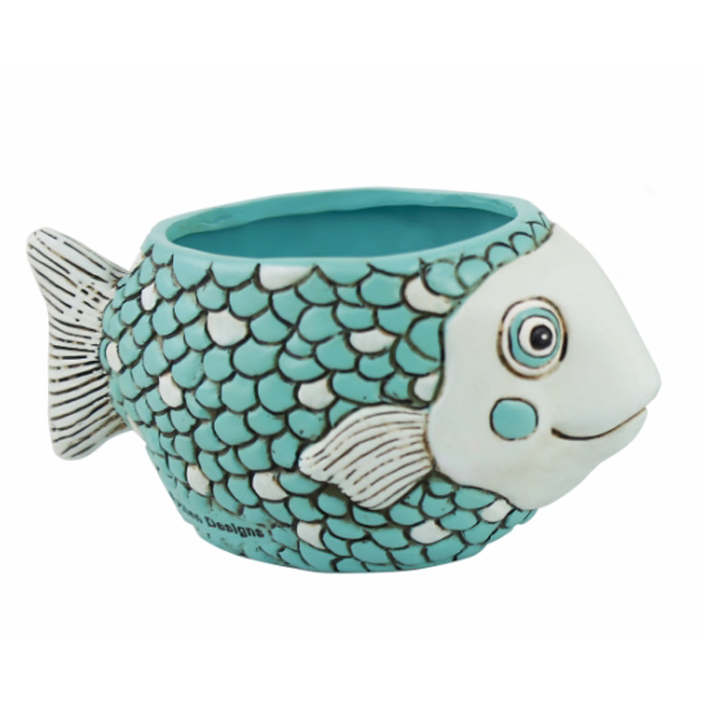 Blue Baby Fish Planter