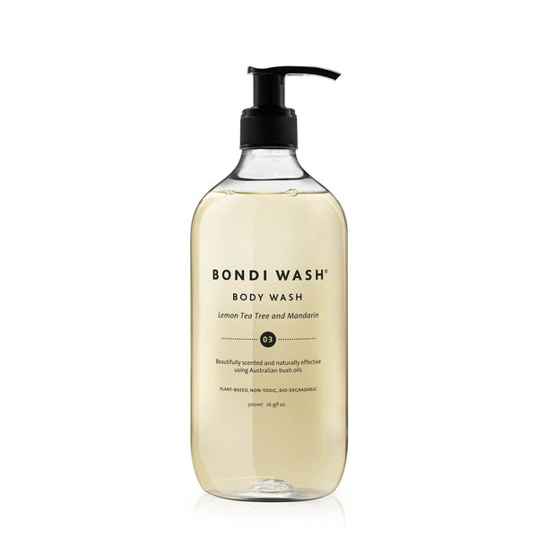 Body Wash: Lemon Tea Tree & Mandarin