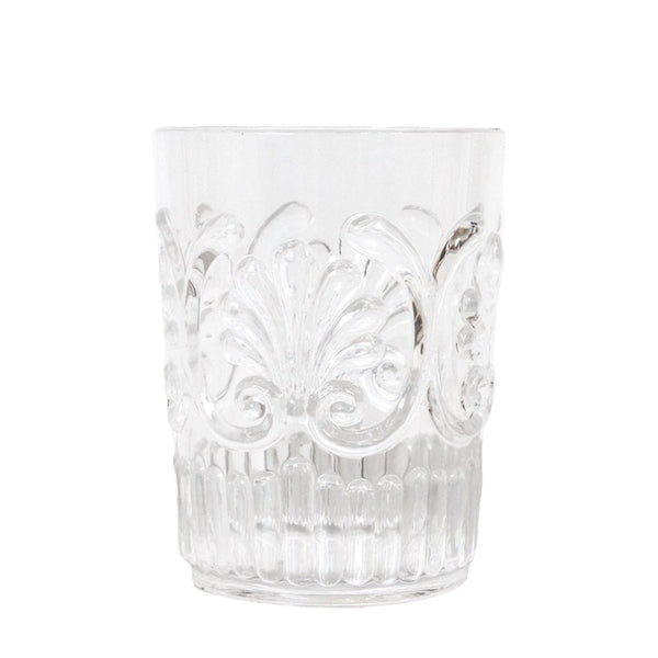 Flemington Acrylic Tumbler: Clear