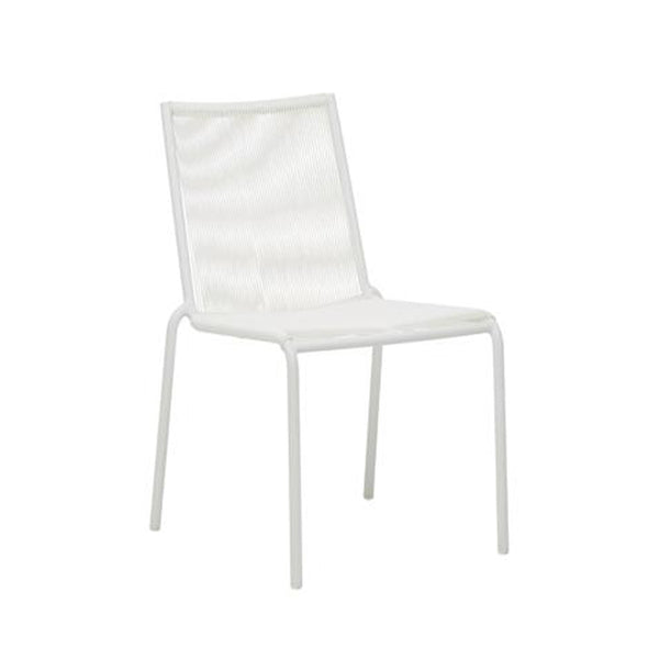 Granada Dining Chair: White