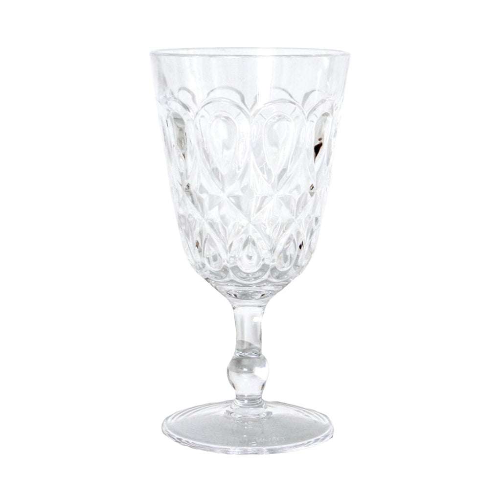 Gala Acrylic Wine Glass: Clear
