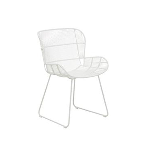 Granada Butterfly Dining Chair: White