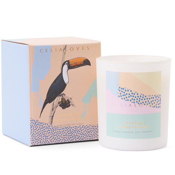 Japanese Honeysuckle Candle: Large *preorder*