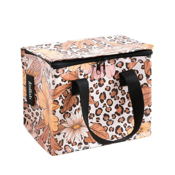 Lunch Bag: Leopard Floral