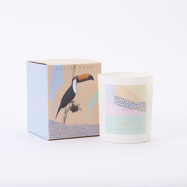 Japanese Honeysuckle Candle: Large