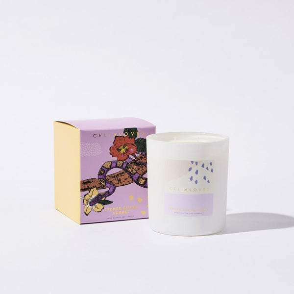 Lychee Guava Sorbet Candle: Large
