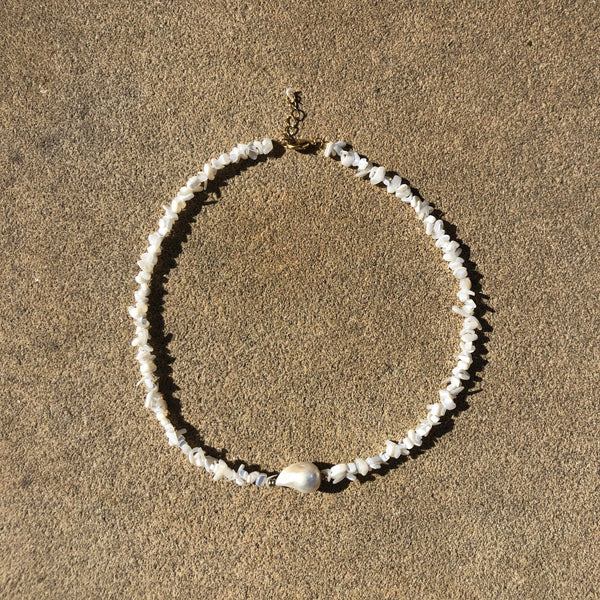 Mustique Pearl Necklace